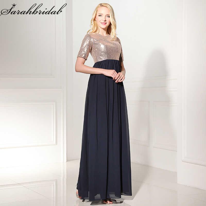 4ffaa5de0f52 Sweety тех Довольно длинные платья выпускного вечера линии этаж Длина  блесток шифон ...
