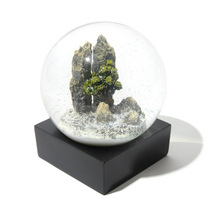 Crystal Ball Wedding Gift High-grade Decoration Birthday Thorny Pinus Glass Snow Globe Home Decor
