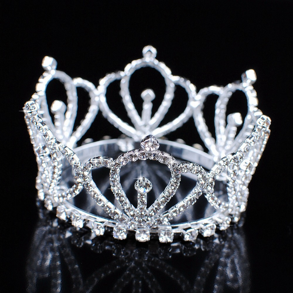 Back To Search Resultsjewelry & Accessories Dazzling Rhinestones Hari Jewelry For Bridal Sliver Wedding Tiaras Girls Crown Headwear Adornos Para El Pelo H228