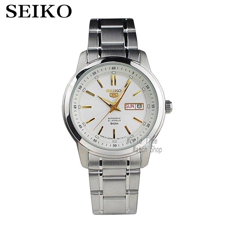 SEIKO Orologio No. 5 Automatico di affari di Modo automatico orologio meccanico SNKM90J1 SNKM85J1SEIKO Orologio No. 5 Automatico di affari di Modo automatico orologio meccanico SNKM90J1 SNKM85J1