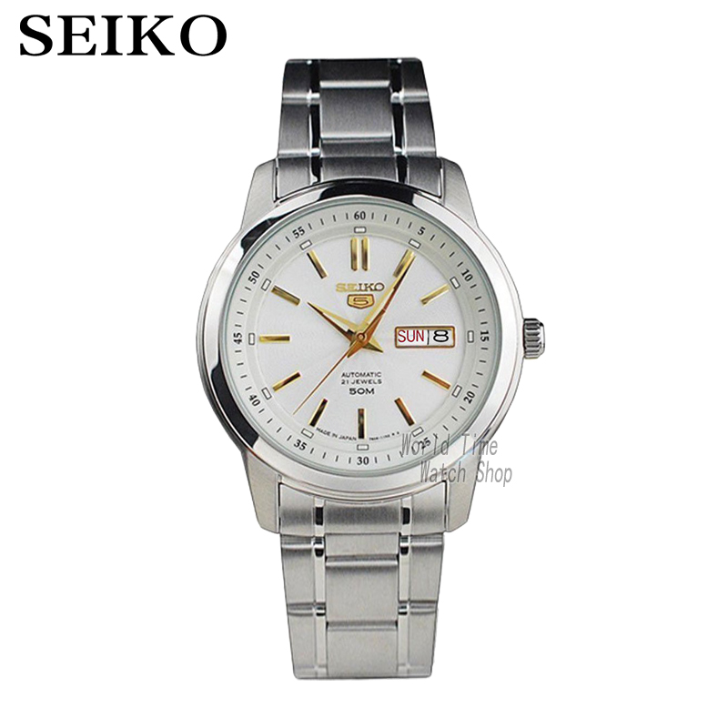 Seiko Watch Men 5 Automatic Watch Set Top Luxury Brand Waterproof Sport Men Watch Mens Watches Waterproof Watchrelogio Masculino