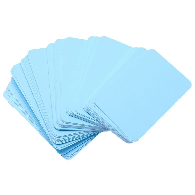 Message Cards Blank Paper Cards For DIY Words Business Small Notepads 100 Pcs