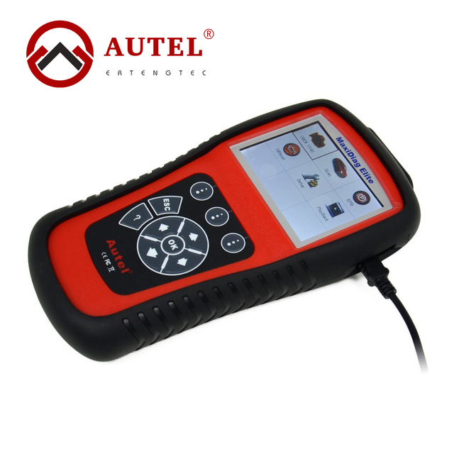 Autel Maxidiag Elite MD701 Diagnose Tool All System Global OBD II Vehicle Coverage One Button Auto Scanner