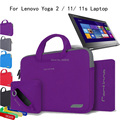 For Lenovo Yoga 11/ 11S Yoga Laptop 2 11.6'' Laptop  4 in 1 Portable Cotton Fabric Handle Carrying Sleeve Case Bag