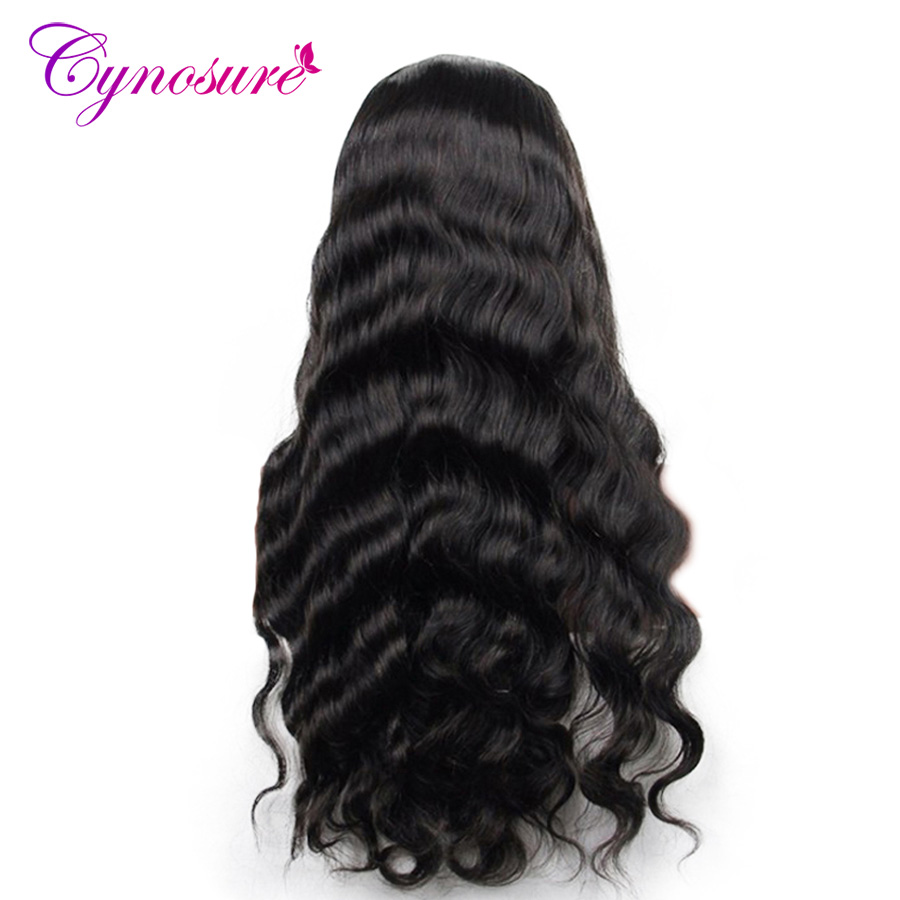 Cynosure Human Hair Bundles 8-28 inch Peruvian Body Wave 3 Bundles Non-remy Hair Extensions Natural Black