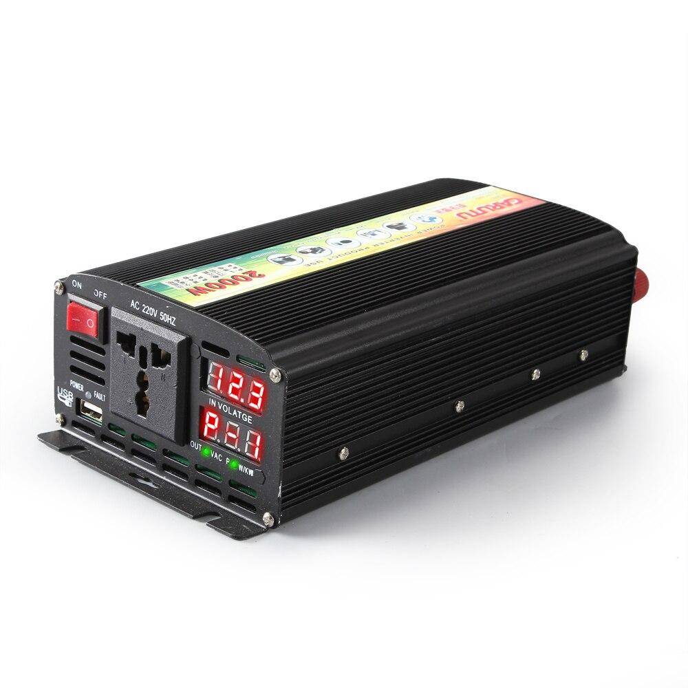 full sustain 1000W Intelligent digital display vehicle inverter 12V /24V to 220V solar inverter with P-1/2/3 fault code displayfull sustain 1000W Intelligent digital display vehicle inverter 12V /24V to 220V solar inverter with P-1/2/3 fault code display