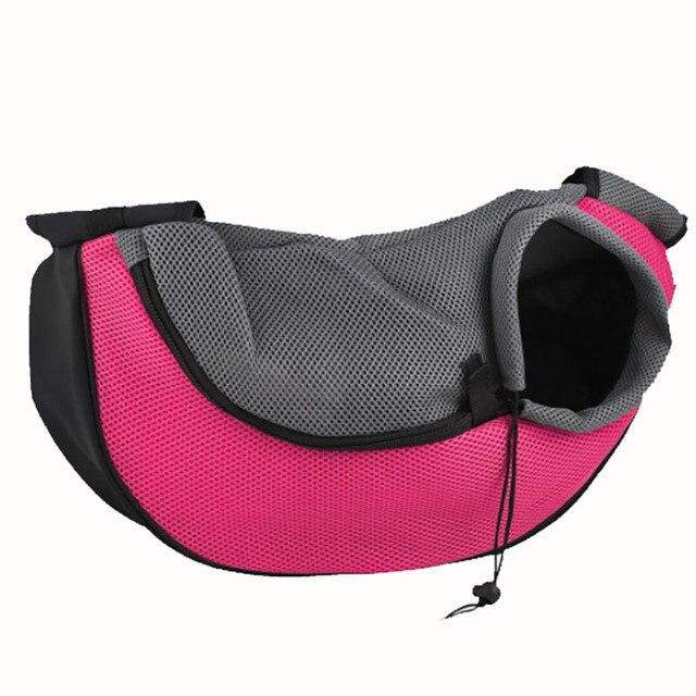 Pet Carrier Cat Puppy Small Animal Dog Carrier Sling Front Mesh Travel Tote Shoulder Bag Backpack SL65 1