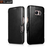 Original ICARER Luxury Series S7 Leather Cases For SAMSUNG Galaxy S7 G9300 G930F Magnetic Real Genuine