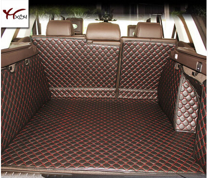 Good quality! Special trunk mats for Land Rover Range Rover Sport 2016-2014 Easy to clean waterproof boot carpets,Free shipping
