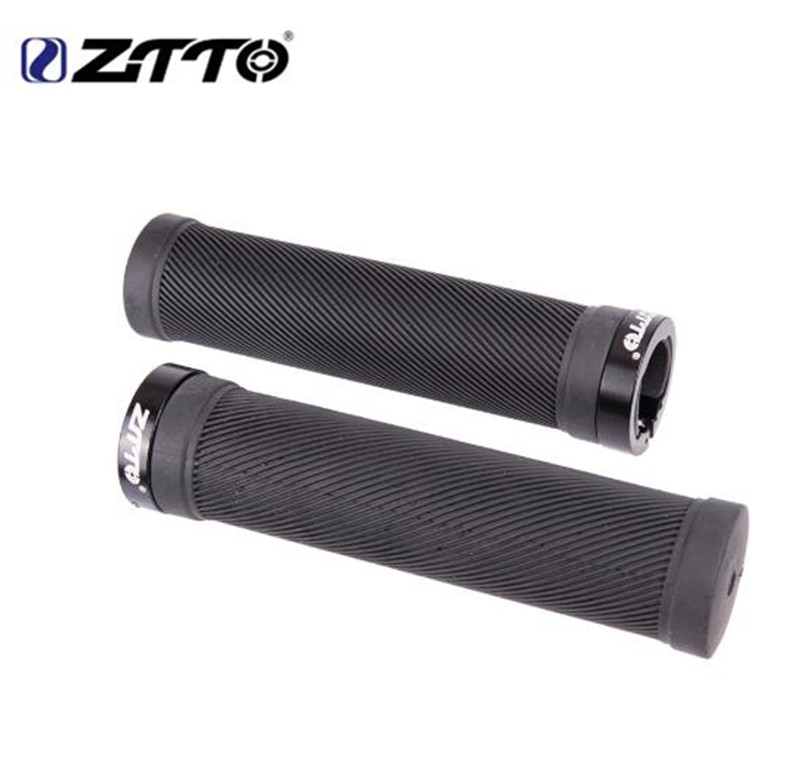ZTTO 1Pair Fixed Gear Lock-on Anti-Slip MTB Mountain Bike Handlebar Grips Shock-Proof Rubber Bicycle Grips Road Bicycle PartsZTTO 1Pair Fixed Gear Lock-on Anti-Slip MTB Mountain Bike Handlebar Grips Shock-Proof Rubber Bicycle Grips Road Bicycle Parts