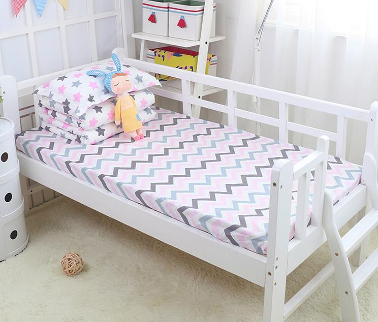 Cartoon Baby Bedding Kit Crib Bedding Set Piece Baby Bed 100% Cotton Enthusiastic With Filling duvet/sheet/pillow