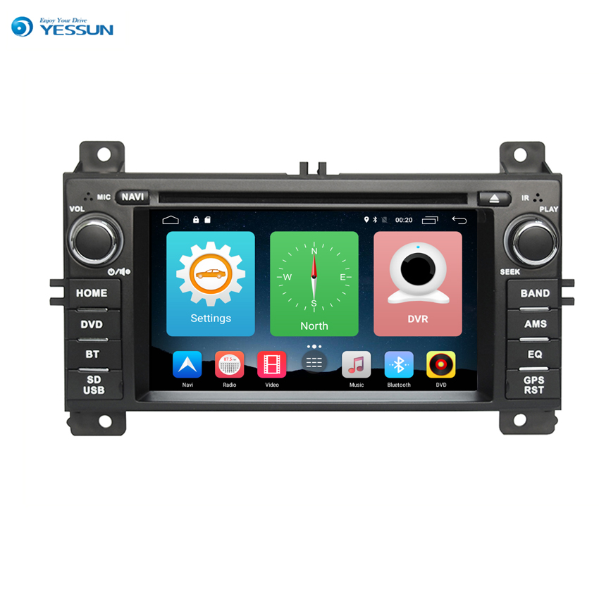 Yessun For Jeep <font><b>Grand</b></font> <font><b>Cherokee</b></font> 2007~2010 Android Car Navigation GPS HD Touch Screen Multimedia Stereo Player Audio Video Radio. image