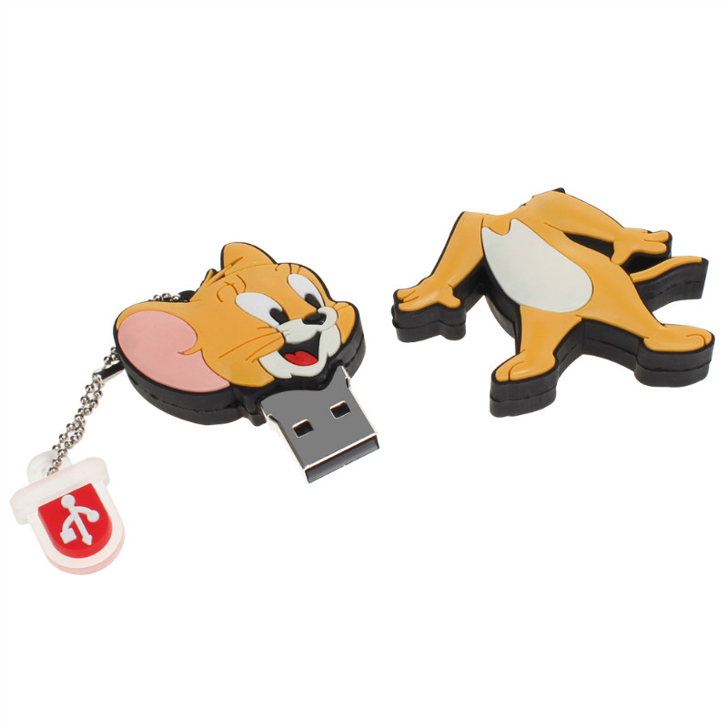 Image 5 - Classic Usb Flash Drive 32gb 64gb 128gb Tom And Jerry Pen Drive 4gb 8gb 16gb Lovely Pendrive USB 2.0 Flash Disk Free Shipping-in USB Flash Drives from Computer & Office