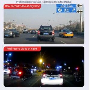 Image 3 - Junsun H16 New Tech 2.5D FHD 1296P Потоковое мультимедиа зеркало заднего вида DVR с двойным объективом, видеорегистратор с 10 дюймовым IPS монитором ночного видения и парковочным монитором