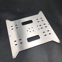 1 قطعة الألومنيوم ضوء الوزن Y النقل ل طابعة Wanhao ميجا i3 3D المعادن ساخنة دعم قاعدة لوحة|قطع غيار طابعة ثلاثية الأبعاد وملحقاتها|الكمبيوتر والمكتب -
