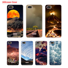 Silicone Phone Case Thunderstorm for Xiaomi Redmi S2 Note 4 4X 5 5Pro 5A Plus 6 6A 7 Pro Cover