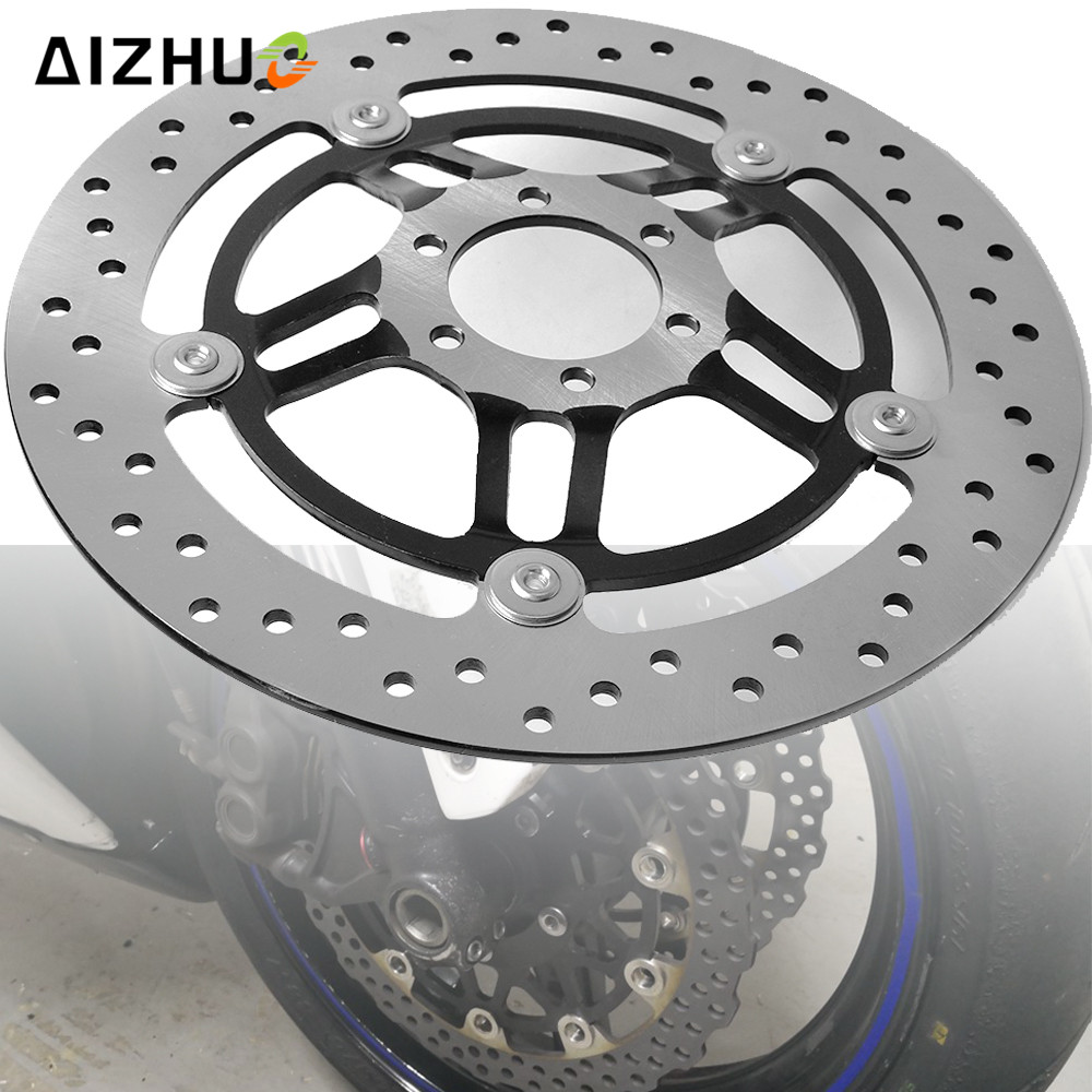 Motorcycle Floating Front Brake Disc Disks Brake Rotor For Honda Hornet 250 CB250 CB 250 1996 1997 1998 1999 2000 2001 VTR250 ahl motorcycle parts motorbike brake pads disks for yamaha ttr250 ttr 250 tt r 250 1999 2006 fa152