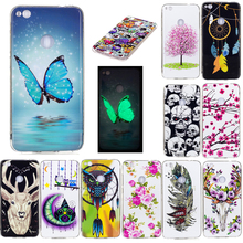 цена на SuliCase Huawei ALE L21 P8 Lite Case Luminous Cartoon Silicone TPU Cover Case for Huawei Ascend P8 Lite ALE-L21 ALE-L23 ALE-L04