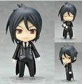 "Super Cute 4"" Nendoroid Black Butler Sebastian Michaelis Boxed PVC Action Figure Collection Model Toy Collection Birthday Gift"