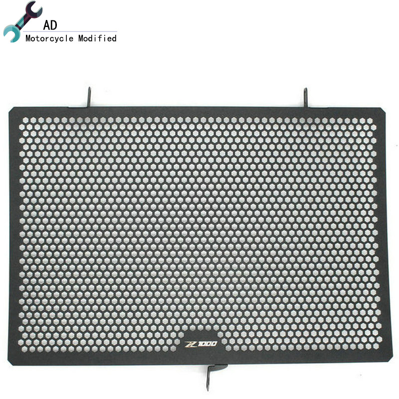 Motorcycle Stainless steel For Kawasaki Radiator Grille Guard Grenaj Radiatore Covers Protector Accessories Z750 Z800 Z1000 ! arashi motorcycle radiator grille protective cover grill guard protector for 2008 2009 2010 2011 honda cbr1000rr cbr 1000 rr