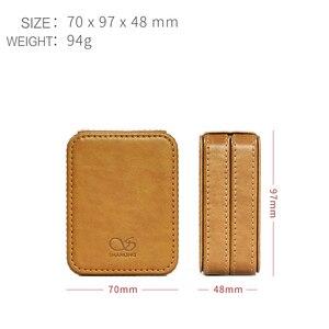 Image 5 - SHANLING C2 Handmade Custom Leather Storage Box for ME100 Earphones Portable Pressure Box