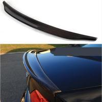Carbon Fiber CAR REAR WING TRUNK LIP SPOILER FOR AUDI A4 A4L B8 2009 2010 2011 2012 FAST BY EMS