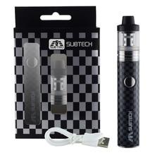 HOT S22 60W Electronic cigarette vaper pen kit 1800mah battery with 2.5ml capacity atomizer 0.3/ 0.5 ohm e-cigarettes