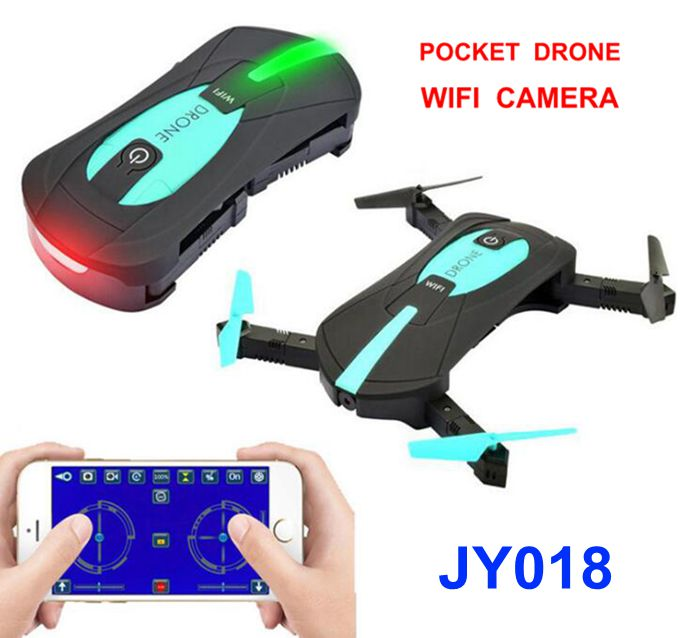 Recommend Seller Mini Pocket Drone jy018 Remote Control Rc Foldable Quadcopter Drones Helicopter With Wifi FPV Camera VS jxd 523