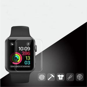 Image 5 - 9D hidrojel Film tam kenar koruyucu kapak iwatch için 4/5/6/SE 40mm 44mm ekran koruyucu Apple için İzle serisi 2/3 38mm 42mm