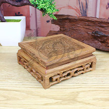 Mahogany base rectangle crafts decoration scupseat wenge teapot pallets
