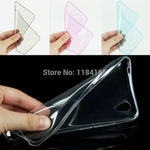 Super Slim Case for ZTE Blade X3/ D2 5 inch Soft Skin Gel Silicone TPU Perfect Fits Cover 4 Pure Colors High Clear(China)