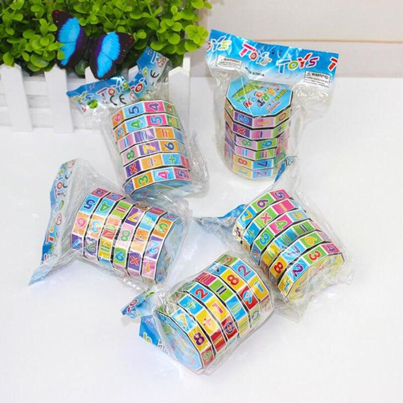 Educational Math Toy Twist Puzzle Cube Mainan Belajar Awal untuk Anak - Teka-teki - Foto 4