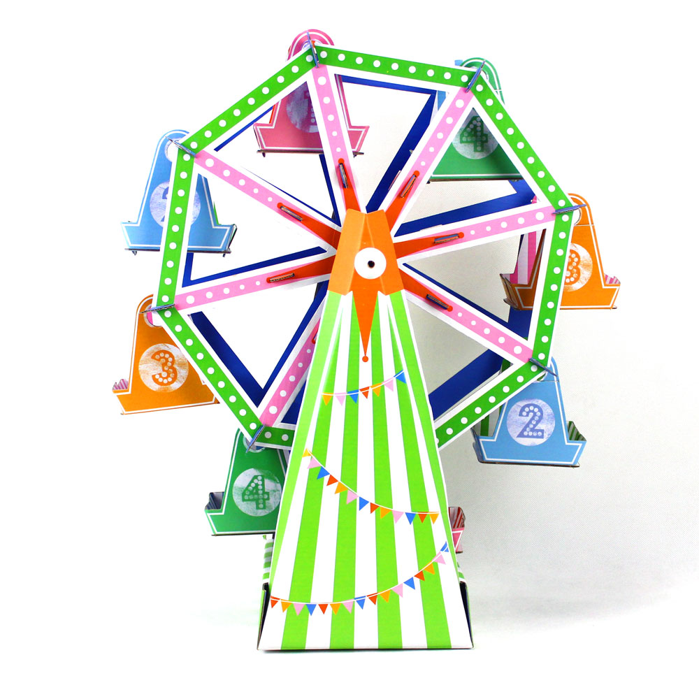 Ferris Wheel Cupcake Stand Diy 8 Cup Paper Cupcake Stand Cake Holder