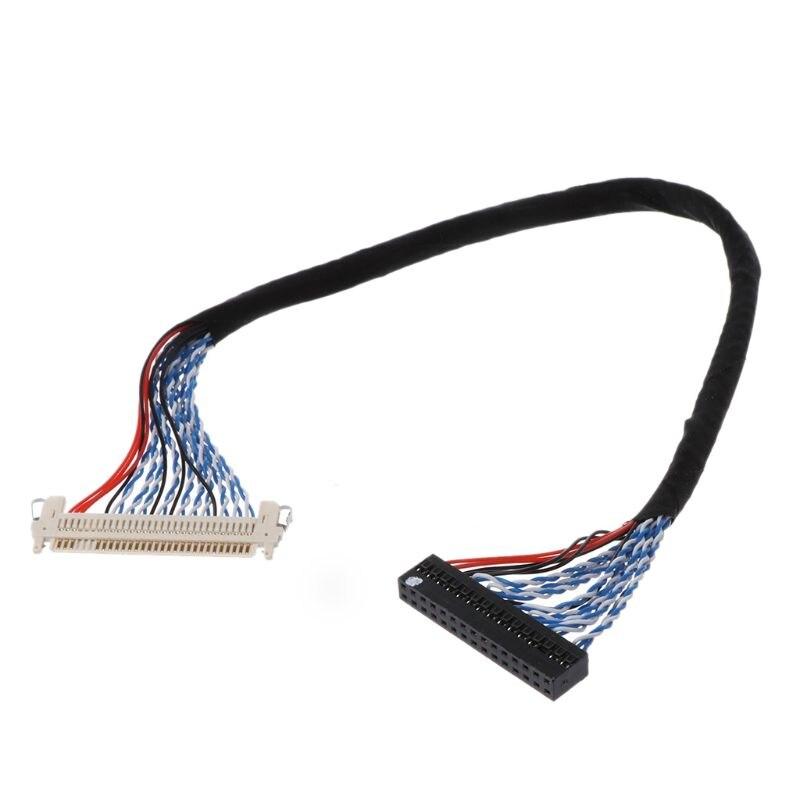 Hooks LVDS Cable D8 FIX 30P D8 FIX 30 Double Pins 2ch 8 Bit 1.0mm Pitch