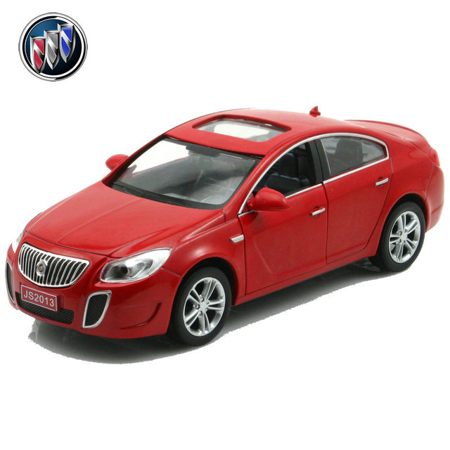 Buick acoustooptical regal 2 open the door WARRIOR alloy car model cars toy