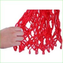 Durable Sports Nylon Thread Basketball Hoop Mesh Net Backboard Rim Ball Pum