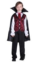 Shanghai story Halloween Costume For Kids Children Bat Vampire Cosplay Suits Prince Boy's Shirt Pants Cloak Sets