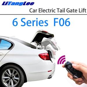 Image 1 - LiTangLee Auto Elektrische Schwanz Tor Lift Stamm Hinten Tür Assist System Für BMW 6 Series F06 2011 ~ 2018 Original schlüssel Fernbedienung