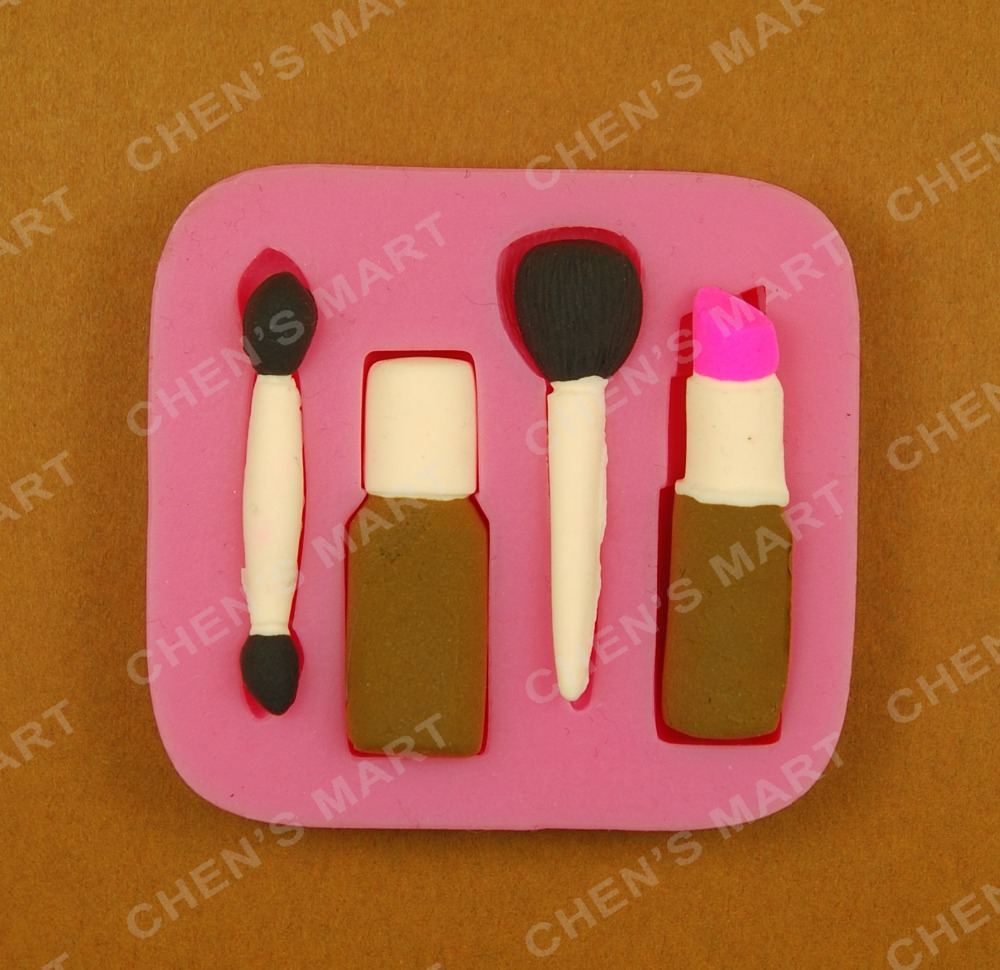 New Arrival 1 Pc Silicone Mold Woman Make Up Cosmetic -8396