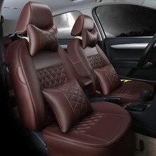 customize leather car seat covers for Ford Focus Mondeo Transit Custom Fiesta S-MAX Explorer maverick KUGA Escape caravan E150