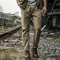 AK Marca CLUB de Pantalones 2016 Pantalones Cómodos Ocasionales de Estilo Militar pantalones khaki slim fit pantalones rectos hombres pantalones de algodón 100% 1512040