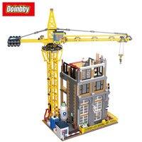Город улица MOC классический Строительство города серии Модель Строительный блок кирпичи игрушки Совместимость Legoings City