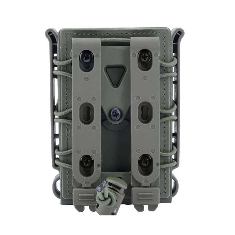 Облегченная модульная система переноски снаряжения для страйкбола чехол для 5,56 мм 7,62 мм подсумок для журналов Военная стрельба Охота Молл жилет ремень сумки для журналов