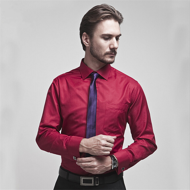 Compare prices on tuxedo dress shirts online shopping buy for Tuxedo shirt french cuff