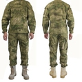 A-TACS FG Camouflage Hunting Training Tactical Uniform Military Clothing Combat Sets Jacket Pants