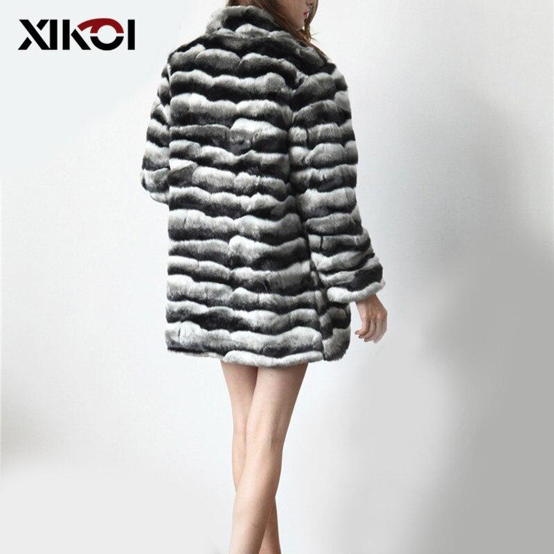 invierno piel Fur largo XIKOI peludo Coat falsa Faux Vintage mujeres Ow7xwBzq