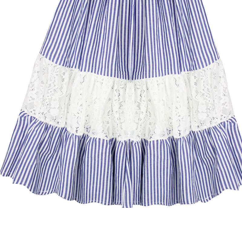0 14T Baby Toddler Teen Girl Long Lace Skirts Children Clothes Girls Striped Tutu Skirt Ruffle Princess Skirt Kids Costume in Skirts from Mother Kids