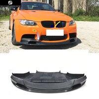 E92 E93 M3 GTS V carbon fiber front bumper lip for BMW E92 E93 M3 05 13