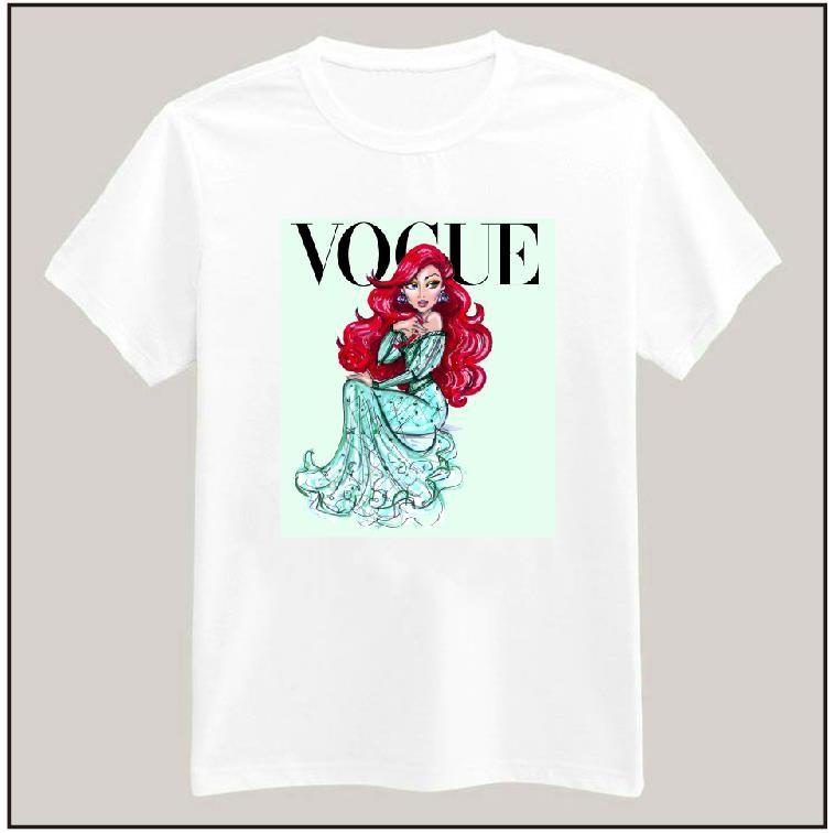 HTB1fiC HpXXXXXPXpXXq6xXFXXX4 - Tattoo Vogue Princess Women T shirt PTC 17