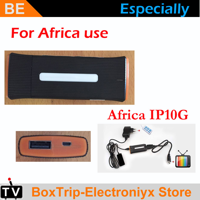 2018 Latest Model Ip10g Africa Tv Box Tv Stick Support